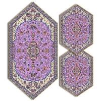 سری سه تکه ترمه طرح شاه عباسی کد 718